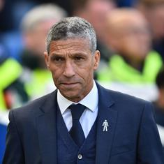 Premier League: Brighton make 'tough call' to sack coach Chris Hughton after slump