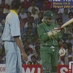 Great World Cup moments: When Venkatesh Prasad gave Aamir Sohail a send-off for the ages in 1996