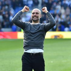 It's a joy to be their manager: Guardiola lauds Man City players after CL win against Shakhtar