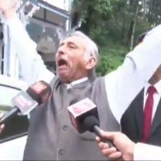 Watch: Mani Shankar Aiyar calls Narendra Modi a coward, loses cool at reporters