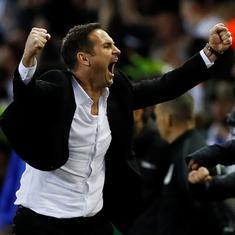 Marriott scores brace as Lampard's Derby beat Leeds in thriller to reach Championship playoff final