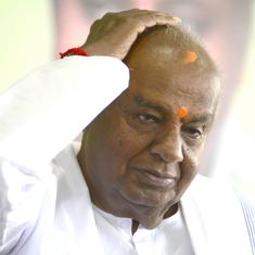 Karnataka: Mid-term elections are imminent, says HD Devegowda, then backtracks