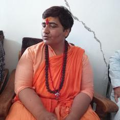 Pragya Thakur again refers to Nathuram Godse as a 'deshbhakt' – this time in the Lok Sabha