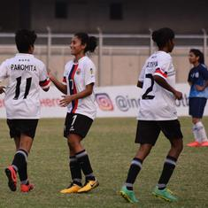 Indian Women's League: Bangalore United, Kolhapur City register comfortable wins