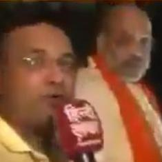 Watch: A journalist asked Amit Shah if BJP will win more than 300 seats. He was not pleased