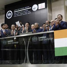London Stock Exchange holds market open ceremony for KIIFB's masala bond listing