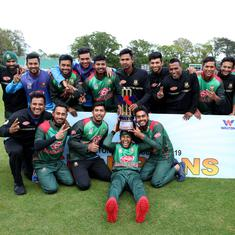 Cricket: Bangladesh win tri-series after beating West Indies by five wickets in rain affected final