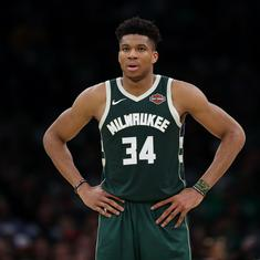 NBA: Milwaukee Bucks' Greek star Giannis Antetokounmpo named 2018-19 MVP