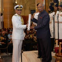 Defence Ministry rejects Vice Admiral Bimal Verma's plea against appointment of next Navy chief