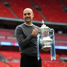 They are the reason why we have won: Guardiola hails Man City players for domestic treble