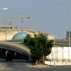 Rocket fired near US embassy in Baghdad's Green Zone, no casualties reported