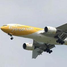Singapore-bound flight makes emergency landing at Chennai airport, all passengers safe