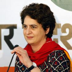 UP Police respond to Priyanka Gandhi, claim crime has fallen by 20%-35% in two years