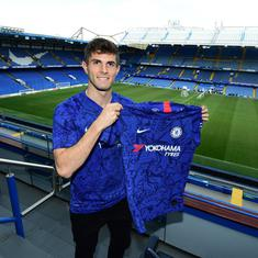 Premier League: New Chelsea arrival Christian Pulisic hopes to emulate 'incredible' Eden Hazard
