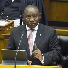 South Africa: Cyril Ramaphosa re-elected as president