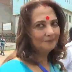Watch: Moon Moon Sen expresses her unhappiness about BJP's gains in West Bengal
