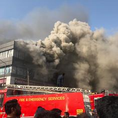 Gujarat: At least 19 die after fire breaks out at a coaching centre in Surat