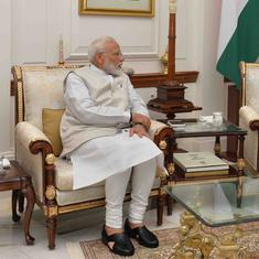 नरेंद्र मोदी कैबिनेट ने राष्ट्रपति को इस्तीफा सौंपा, 16वीं लोकसभा भंग करने की सिफारिश की