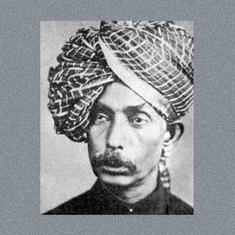 Listen: Marathi natya geet performed by Abdul Karim Khan and Kumar Gandharva
