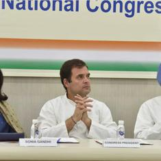Rahul Gandhi accuses three senior Congress leaders of placing their sons above party: Reports
