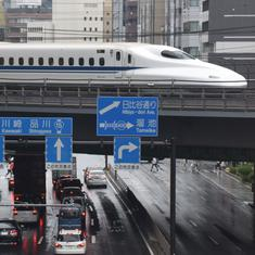Japan: New model of bullet train hits record speed of 360 km an hour during test run