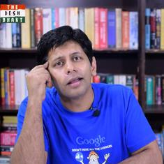 Watch: Satirist Akash Banerjee explains what politicians who lost Lok Sabha elections should do now