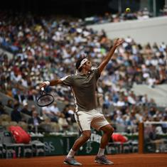 French Open, Day 1 Men's wrap: Federer makes winning return, Tsitsipas eases into second round