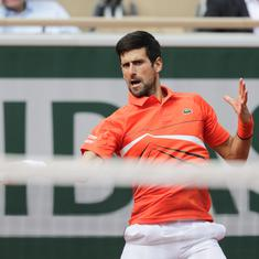 I can make history in tennis: Djokovic hopes to hold all four Grand Slams at the same time, again