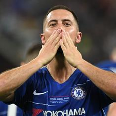 I think it's a goodbye: Hazard looks for new challenge after starring in Chelsea's Europa League win