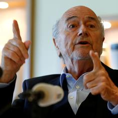 I want to sue him: Former president Sepp Blatter slams current Fifa chief Gianni Infantino