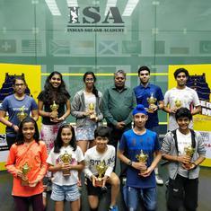 Squash: Veer Chotrani, Sanya Vats win Southern Slam U-19 title
