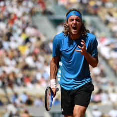 The worst feeling ever: Tsitsipas in tears after losing five-set thriller against Wawrinka