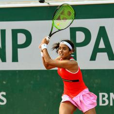 Indian tennis: Ankita Raina beats ninth seed, Ramkumar out in US Open qualifying first round