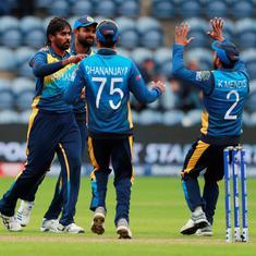 क्रिकेट विश्व कप : बारिश से प्रभावित मुकाबले में श्रीलंका ने अफगानिस्तान को 34 रन से हराया