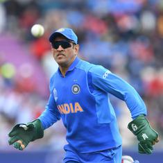 World Cup 2019: MS Dhoni dons gloves with Special Para Forces insignia in tribute to Indian Army