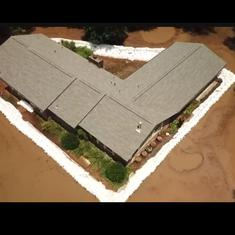 Watch: It took 10,000 sandbags to save this house in Arkansas from flood water