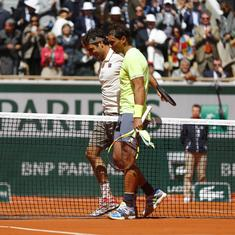 French Open: Even a competitive Federer wasn't enough against wind and force-of-nature Nadal