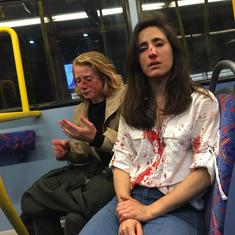Watch: Gay couple beaten up for refusing to kiss to entertain men on a London bus