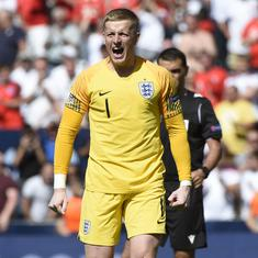 Football: England finish third in Nations League after win on penalties against Switzerland