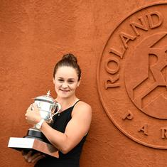 Ash Barty will be a tough lady to beat at Wimbledon, says Rod Laver