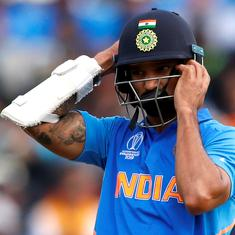 World Cup: Shikhar Dhawan ruled out for three weeks after suffering thumb fracture, claim reports