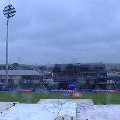 Rain tops the points table: Twitter vents ire after third World Cup match is washed out