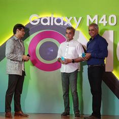 Samsung Galaxy M40 debuts in India at Rs 19,990