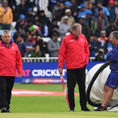 क्रिकेट विश्व कप : भारत के साथ मैच रद्द होने के बाद भी न्यूजीलैंड अंकतालिका में शीर्ष पर बरकरार