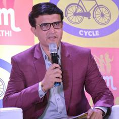 I'm sure Sourav Ganguly will serve BCCI with same passion as he played cricket: Sachin Tendulkar