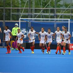 FIH Women's Series Finals: India start campaign with impressive 4-1 win over Uruguay