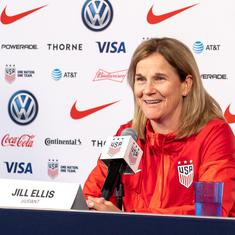 USA coach Ellis in pursuit of perfection as she eyes second successive Fifa Women's World Cup title