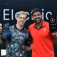 Indian tennis: Bopanna-Shapovalov reach Rogers Cup semis with walkover, Ankita Raina out in Chiswick