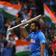 World Cup 2019: As a team we're heading in the right direction, says Rohit Sharma
