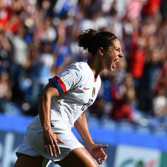 FIFA Women's World Cup: Record-breaking Lloyd takes USA to last 16, Sweden also advance